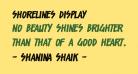 Shorelines Display