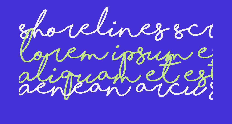Shorelines Script Bold