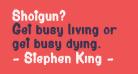 Shotgun?