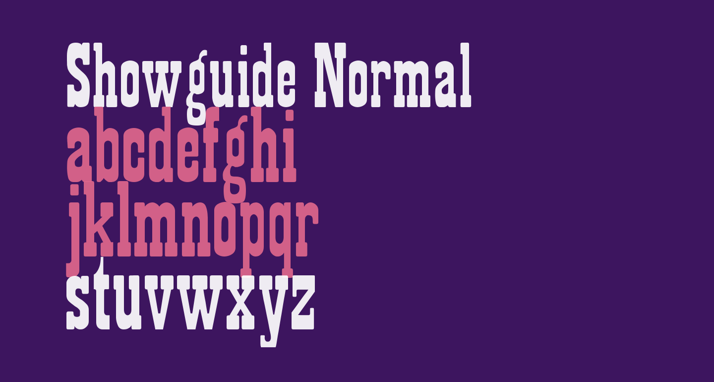 Showguide Normal