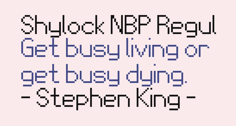 Shylock NBP Regular
