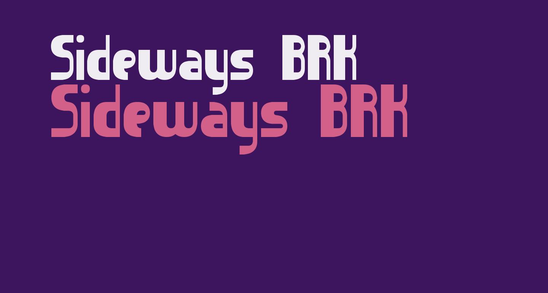 Sideways BRK