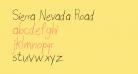 Sierra Nevada Road