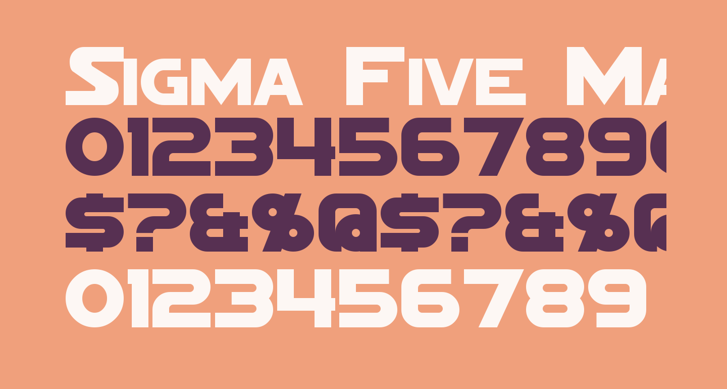 Sigma Five Marquee