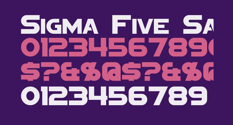 Sigma Five Sans