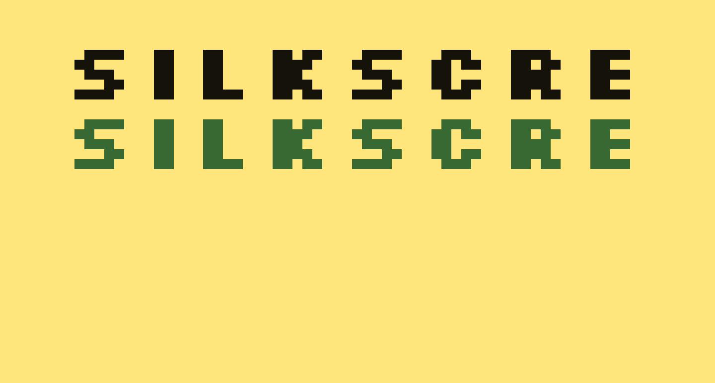 Silkscreen Expanded Bold