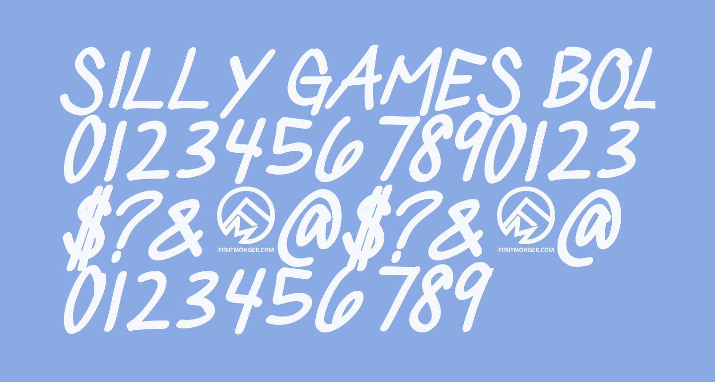 Silly Games Bold Italic