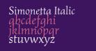 Simonetta Italic