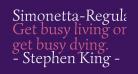 Simonetta-Regular