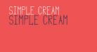 Simple Cream