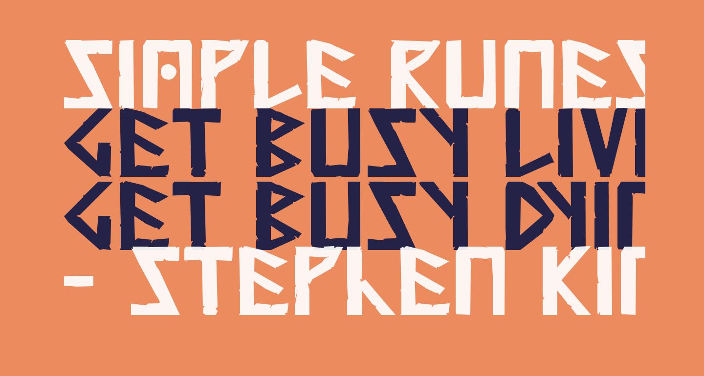 Simple Runes Normal