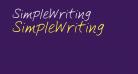 SimpleWriting
