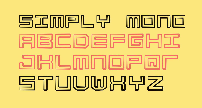 Simply Mono Dirty