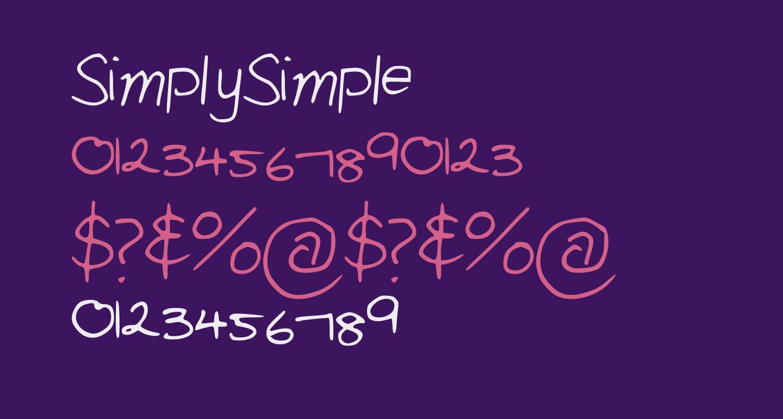 SimplySimple