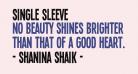 Single Sleeve