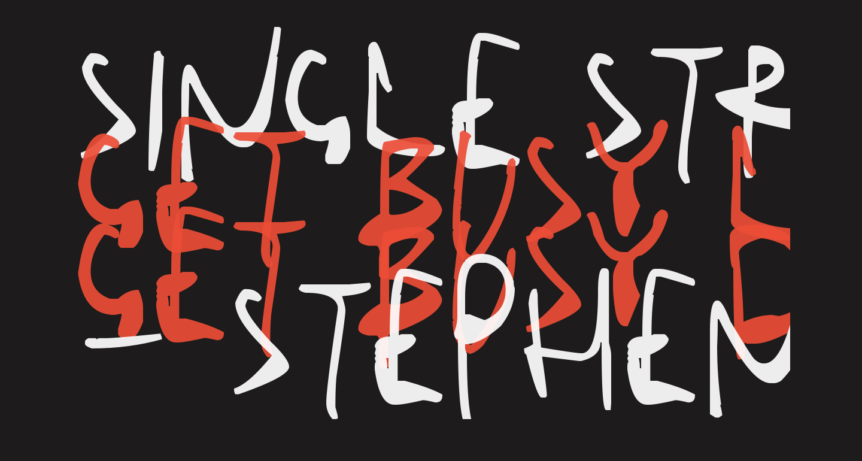 Single Stroke Inks