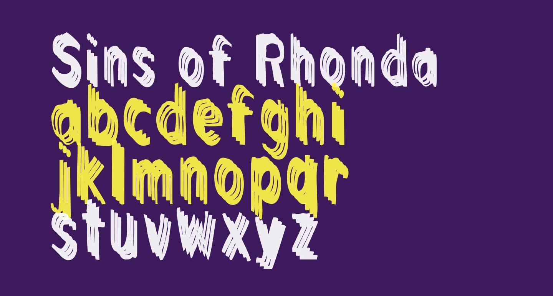 Sins of Rhonda