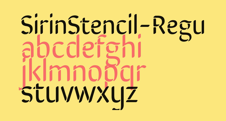SirinStencil-Regular