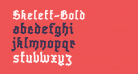 Skelett-Bold