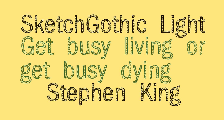 SketchGothic-Light