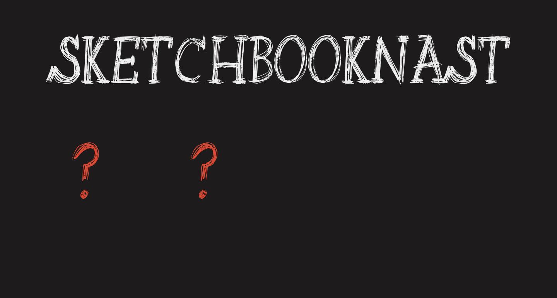 SketchbookNasty-Regular