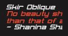 Skir Oblique
