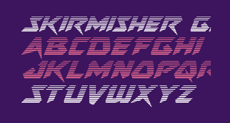Skirmisher Gradient Italic