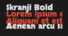 Skranji Bold