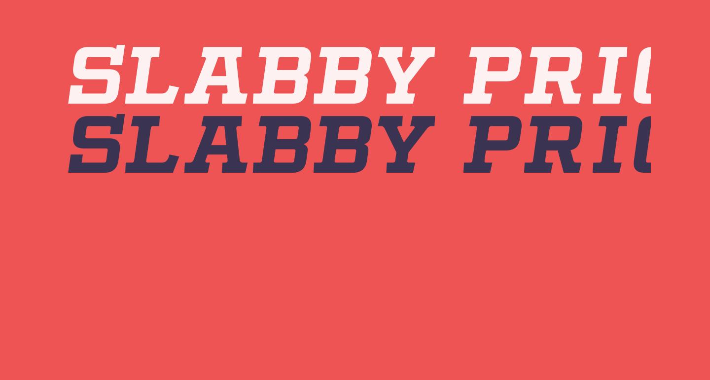 Slabby Prices Italic