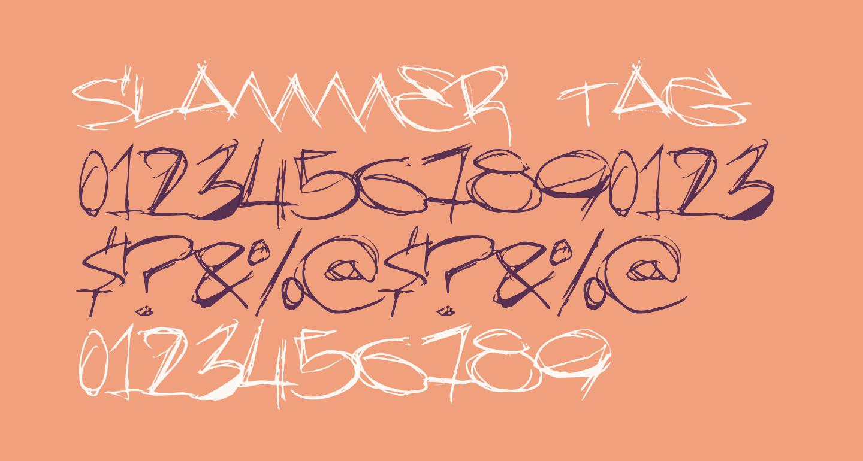 Slammer tag