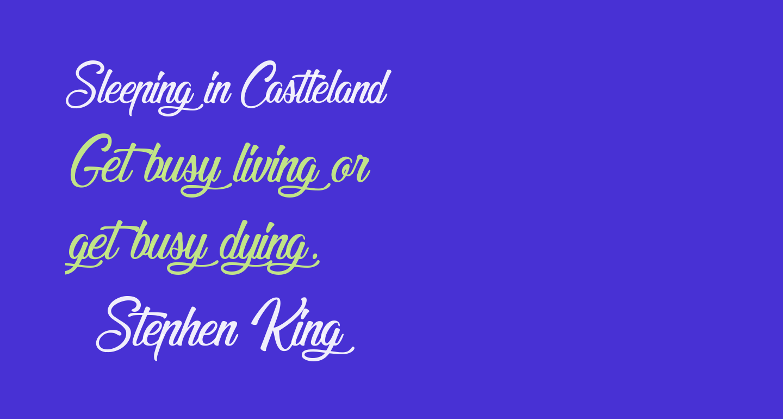 Sleeping in Castleland
