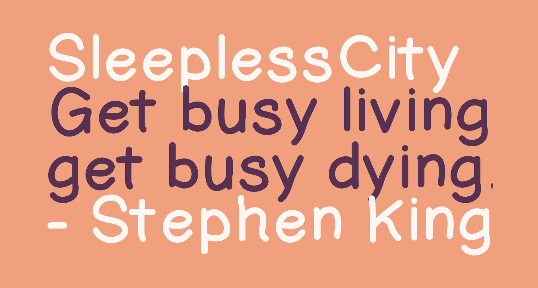 SleeplessCity