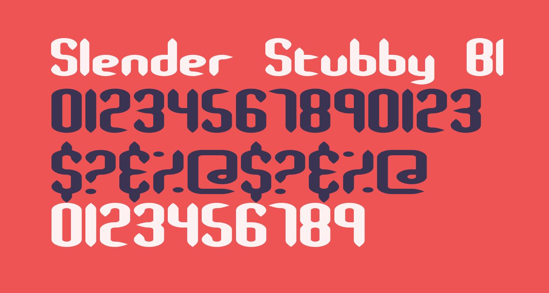 Slender Stubby BRK