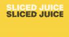 Sliced Juice