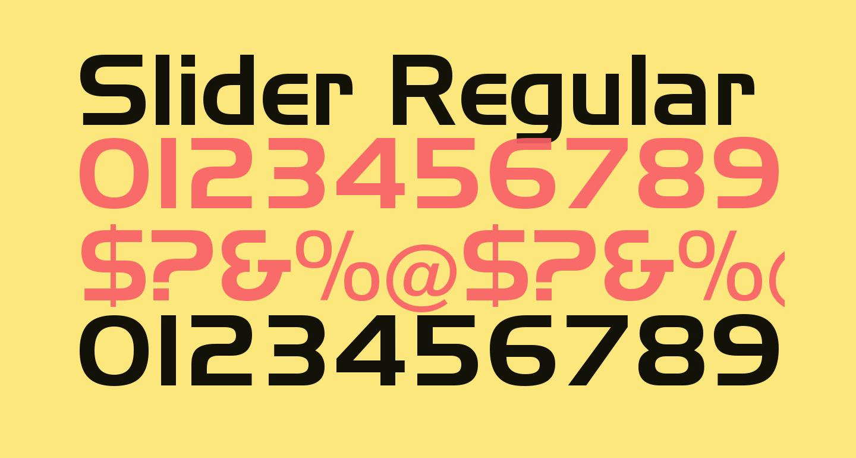 Slider Regular