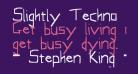 Slightly Techno