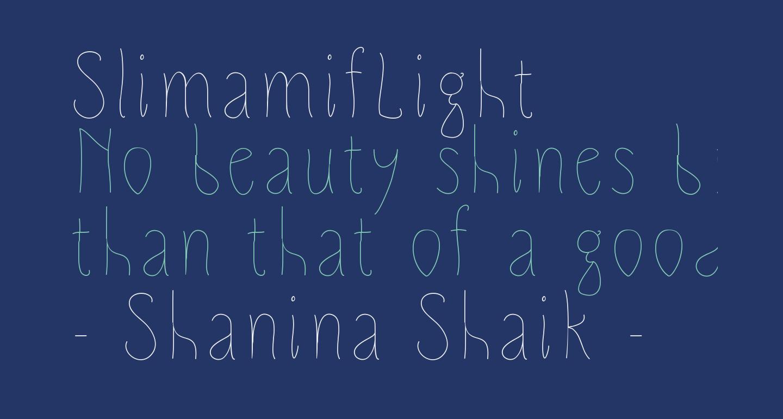 SlimamifLight