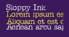 Sloppy Ink