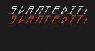 slantedITALICshift-Black