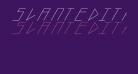 slantedITALICshift-Light