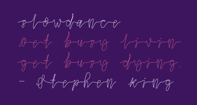 slowdance