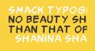 Smack Typographik