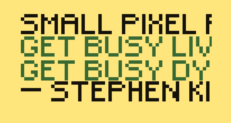 Small Pixel Regular