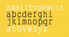 SmallTypeWriting-Medium