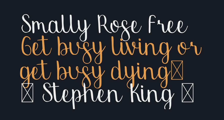 Smally Rose Free