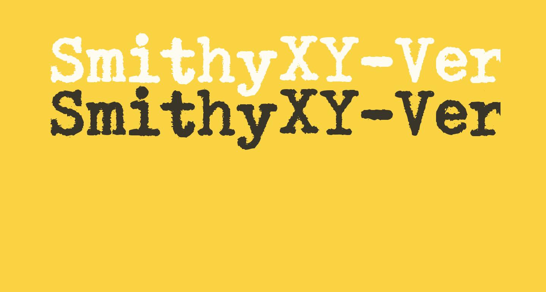SmithyXY-VeryHeavy