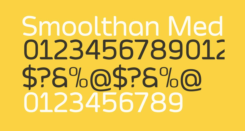 Smoolthan Medium