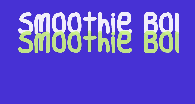 Smoothie Bold