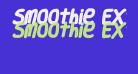 Smoothie ExtraBold Italic