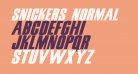 Snickers Normal